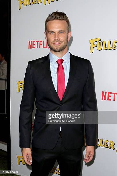Actor John Brotherton attends the premiere of Netflix's 'Fuller House' at Pacific Theatres at The Grove on February 16 2016 in Los Angeles California