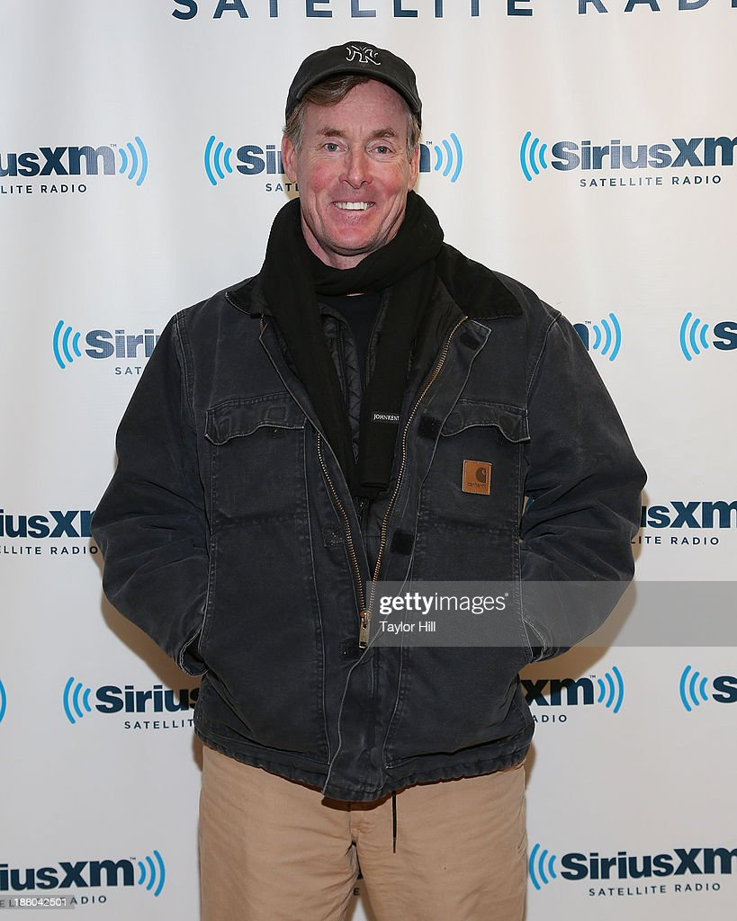 Actor John C. McGinley visits the SiriusXM Studios on November 14, 2013 in New York City.