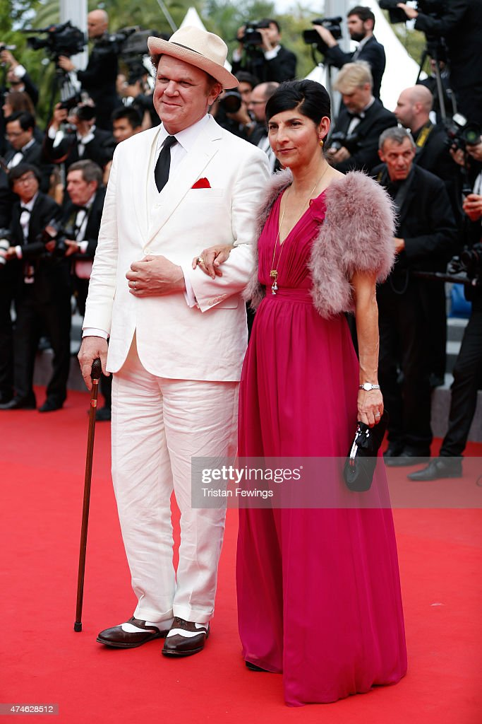 Actor John C. Reilly and producer Alison Dickey attend the closing ceremony and 'Le Glace Et Le Ciel' ('Ice And The Sky') Premiere during the 68th annual Cannes Film Festival on May 24, 2015 in Cannes, France.