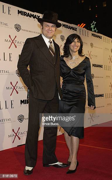 Actor John C Reilly and wife Alison Dickey attend the Los Angeles premiere of The Aviator on December 1 2004 at the Mann's Chinese Theatre in...