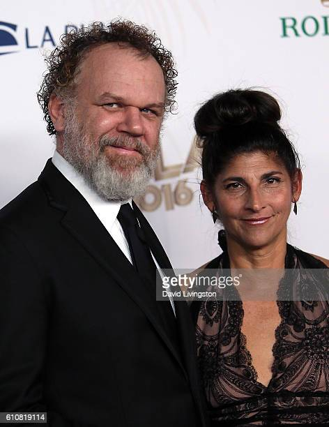Actor John C Reilly and wife Alison Dickey attend the Los Angeles Philharmonic 2016/17 Opening Night Gala Gershwin and the Jazz Age at Walt Disney...