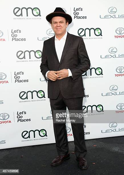 Actor John C Reilly attends the 24th Annual Environmental Media Awards presented by Toyota and Lexus at Warner Bros Studio on October 18 2014 in...