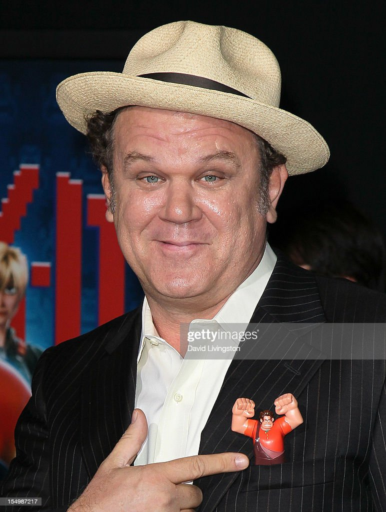 Actor John C. Reilly attends the premiere of Walt Disney Animation Studios' 'Wreck-It Ralph' at the El Capitan Theatre on October 29, 2012 in Hollywood, California.