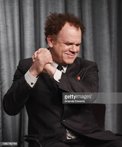 Actor John C Reilly attends the SAGAFTRA Foundation Conversations Career Retrospective with John C Reilly at the SAGAFTRA Foundation Screening Room...