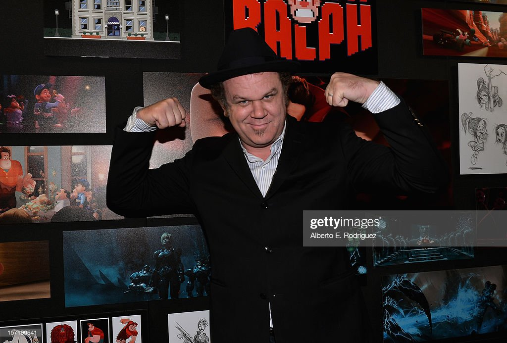 Actor John C. Reilly attends The Walt Disney Studios 2012 Animation Celebration at The Beverly Hills Hotel on November 29, 2012 in Beverly Hills, California.