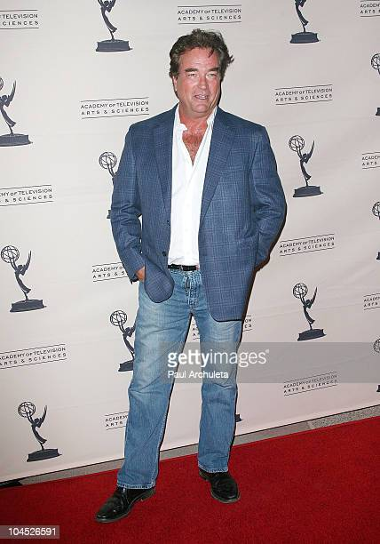 Actor John Callahan arrives at the Academy Of Television's presentation to Celebrate 45 Years Of Days Of Our Lives at Leonard H Goldenson Theatre on...