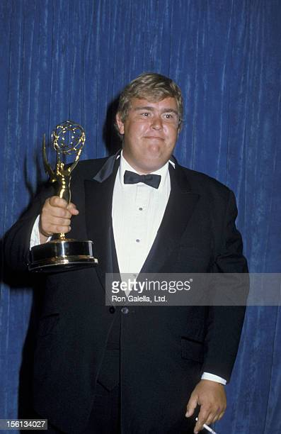 Actor John Candy attends 35th Annual Primetime Emmy Awards on September 25 1983 at the Pasadena Civic Auditorium in Pasadena California