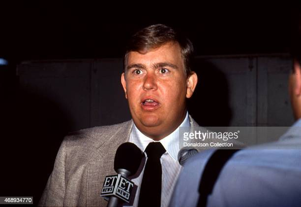 Actor John Candy attends and event in circa 1985 in Los Angeles California