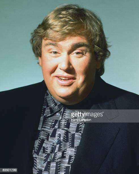 Actor John Candy poses for a photo session on April 12 1993 in Los Angeles California