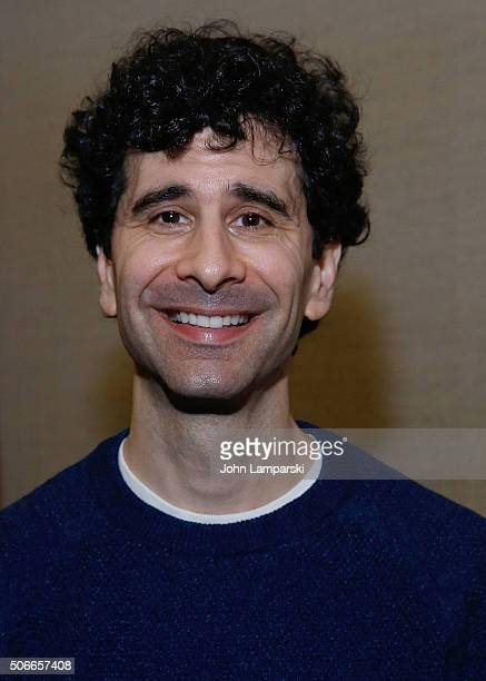 Actor John Cariani attends BroadwayCon 2016 at the Hilton Midtown on January 24 2016 in New York City