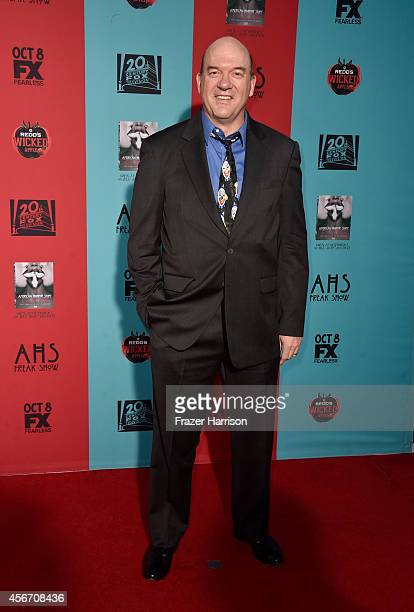 Actor John Carroll Lynch attends FX's 'American Horror Story Freak Show' premiere screening at TCL Chinese Theatre on October 5 2014 in Hollywood...