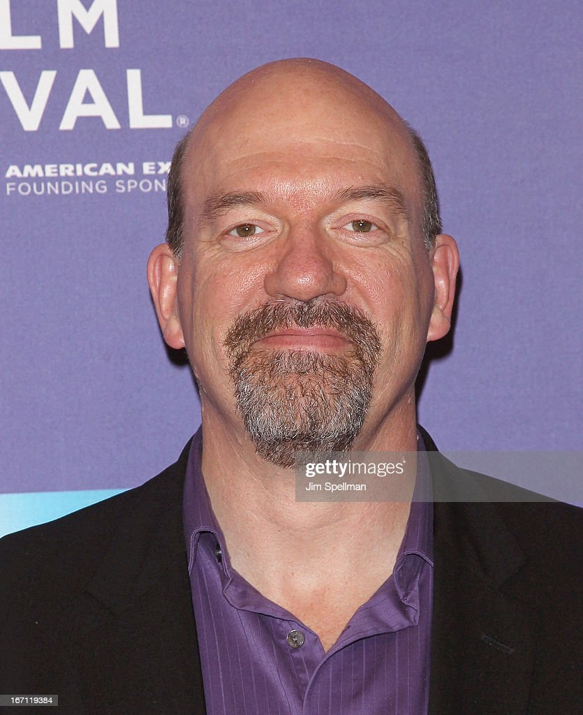 Actor John Carroll Lynch attends the screening of 'The Pretty One' during the 2013 Tribeca Film Festival at SVA Theater on April 20, 2013 in New York City.