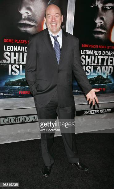 Actor John Carroll Lynch attends the 'Shutter Island' premiere at the Ziegfeld Theatre on February 17 2010 in New York City