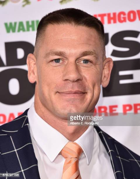 Actor John Cena attends the premiere of Paramount Pictures' 'Daddy's Home 2' at The Regency Village Theatre on November 5 2017 in Westwood California