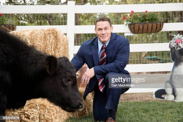 Actor John Cena is photographed for USA Today on December 15 2017 in Santa Clarita California PUBLISHED IMAGE