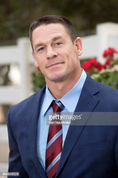Actor John Cena is photographed for USA Today on December 15 2017 in Santa Clarita California