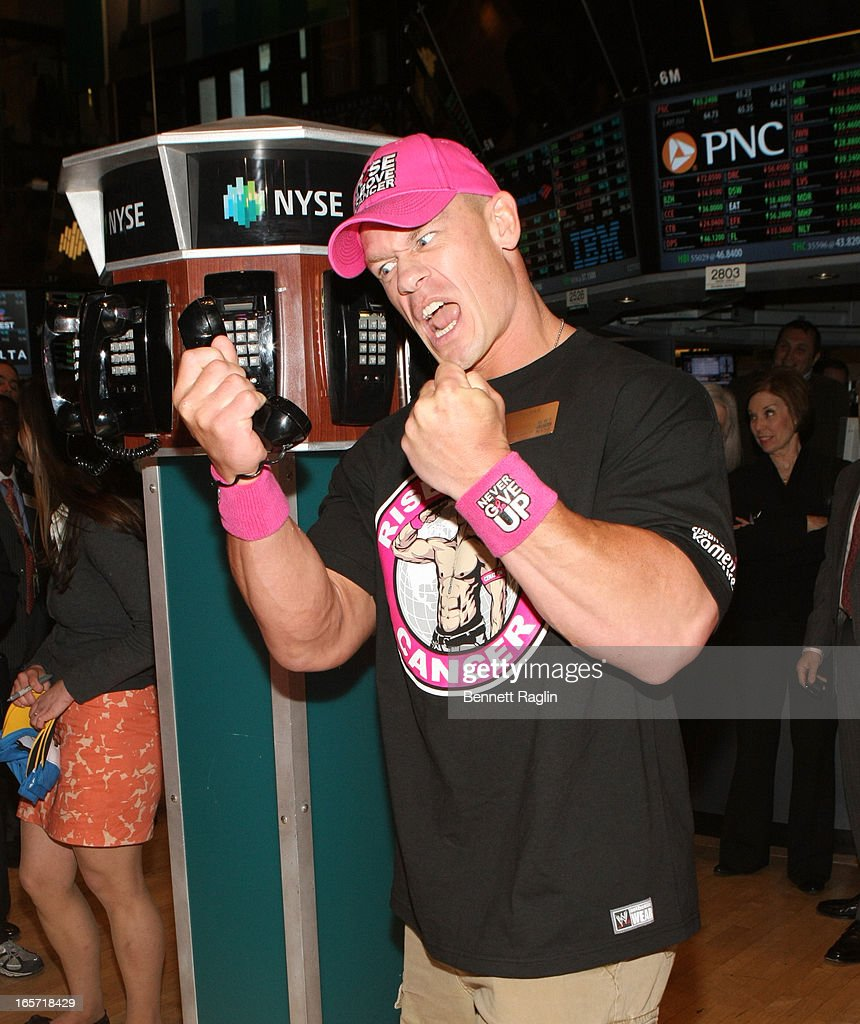 John Cena Rings The NYSE Closing Bell