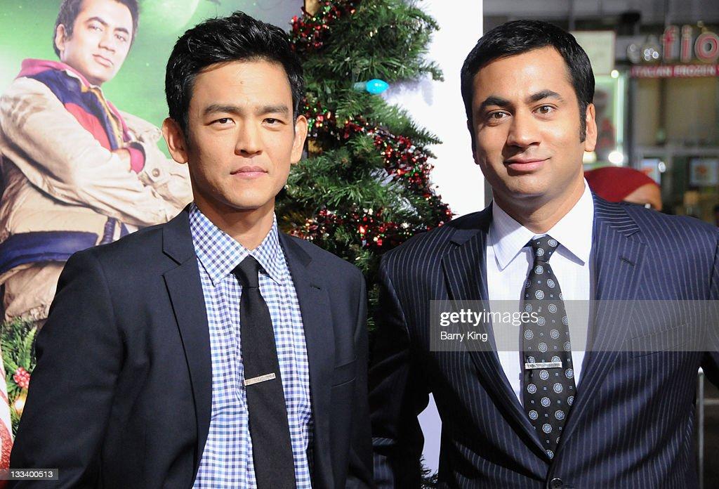 """A Very Harold & Kumar 3D Christmas"" - Los Angeles Premiere : News Photo"