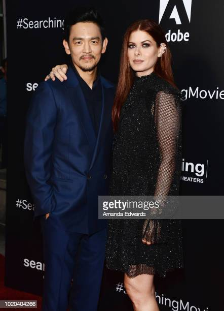 Actor Joseph Lee and Diana Ryu arrive at a screening of Stage 6 Films' 'Searching' at ArcLight Hollywood on August 20 2018 in Hollywood California