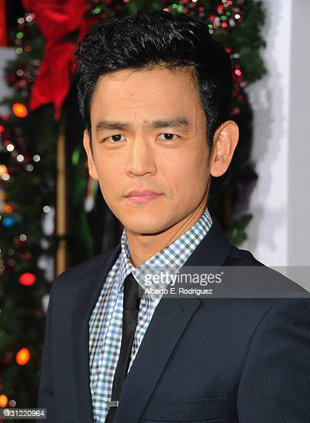 Actor John Cho arrives to the premiere of New Line Cinema's A Very Harold Kumar 3D Christmas at Grauman's Chinese Theatre on November 2 2011 in...
