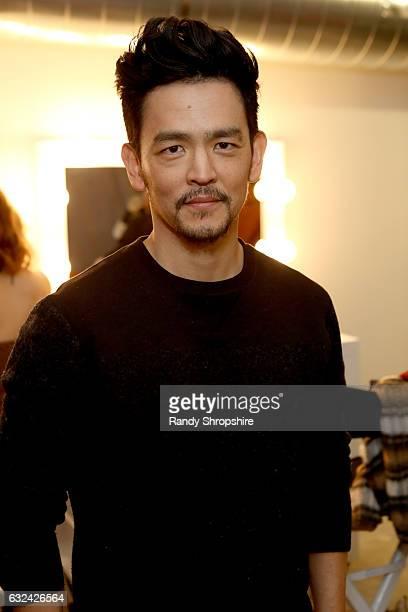 Actor John Cho attends ATT At The Lift during the 2017 Sundance Film Festival on January 22 2017 in Park City Utah