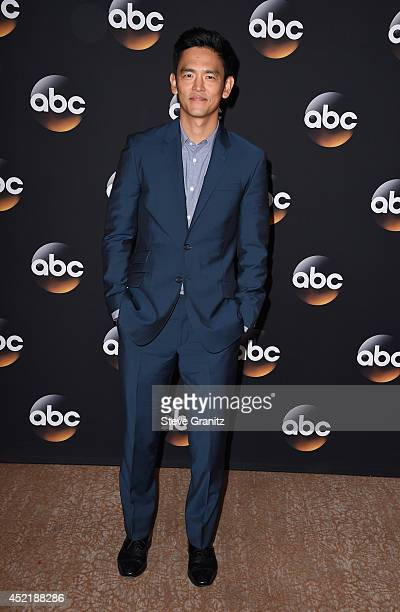 Actor John Cho attends the Disney/ABC Television Group 2014 Television Critics Association Summer Press Tour at The Beverly Hilton Hotel on July 15,...