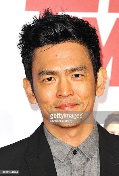 Actor John Cho attends the premiere of Paramount Pictures' Hot Tub Time Machine 2 at Regency Village Theatre on February 18 2015 in Westwood...