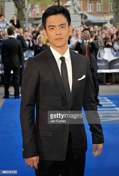 Actor John Cho attends the 'Star Trek' film premiere at the Empire Leicester Square on April 20 2009 in London England
