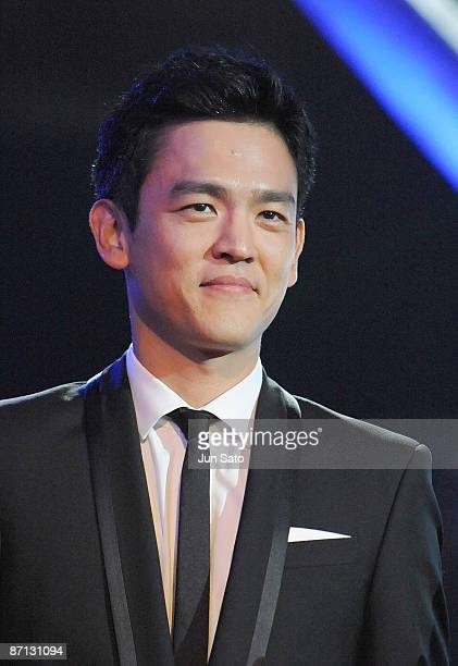 Actor John Cho attends the Star Trek Japan Premiere at Shinjuku Milano One on May 12 2009 in Tokyo Japan The film will open on May 29 2009 in Japan