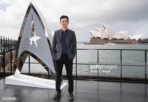 Actor John Cho during a photo call for Star Trek Beyond on July 7 2016 in Sydney Australia
