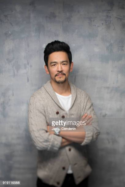 Actor John Cho from the film 'Search' is photographed for Los Angeles Times on January 22 2018 in the LA Times Studio at Chase Sapphire on Main...