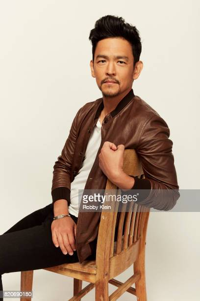 Actor John Cho of Fox's 'The Exorcist' poses for a portrait during ComicCon 2017 at Hard Rock Hotel San Diego on July 20 2017 in San Diego California