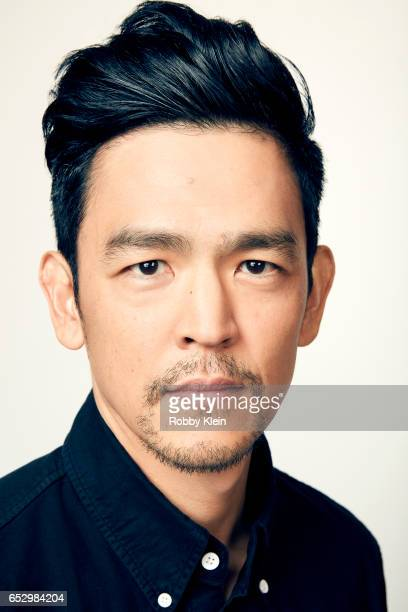 Actor John Cho of Gemini poses for a portrait at The Wrap and Getty Images SxSW Portrait Studio on March 12 2017 in Austin Texas