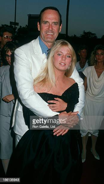 Actor John Cleese and daughter Camilla Cleese attending the premiere of 'A Fish Called Wanda' on July 13 1988 at The Academy Theater in Beverly Hills...