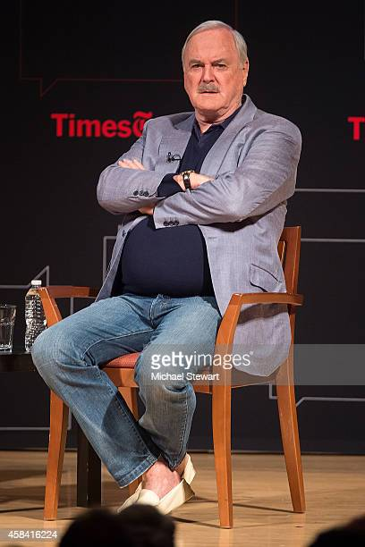 Actor John Cleese attends TimesTalks Presents An Evening With John Cleese at The New School on November 4 2014 in New York City