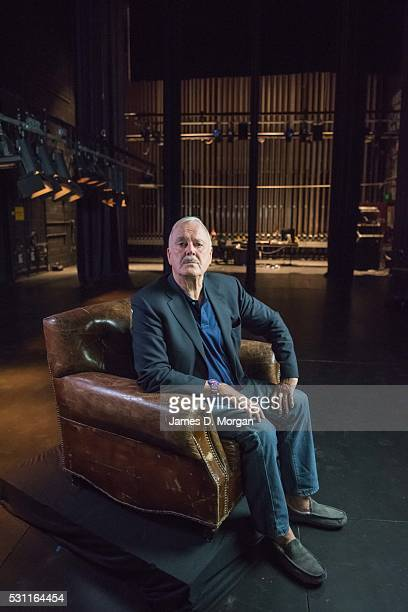 Actor John Cleese poses for portrait at Nida on February 17 2016 in Sydney Australia