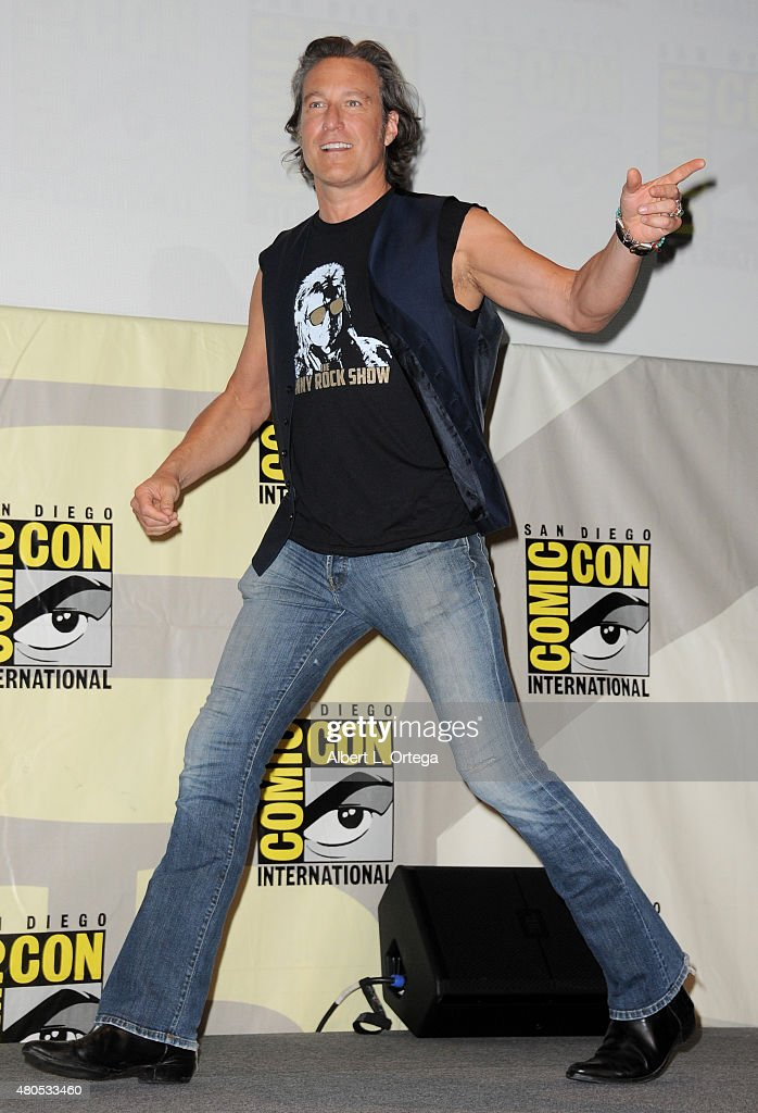 Actor John Corbett attends the FX TV Block featuring 'Sex&Drugs&Rock&Roll,' 'The Strain,' and a sneak peek of 'The Bastard Executioner' panel during Comic-Con International 2015 at the San Diego Convention Center on July 12, 2015 in San Diego, California.