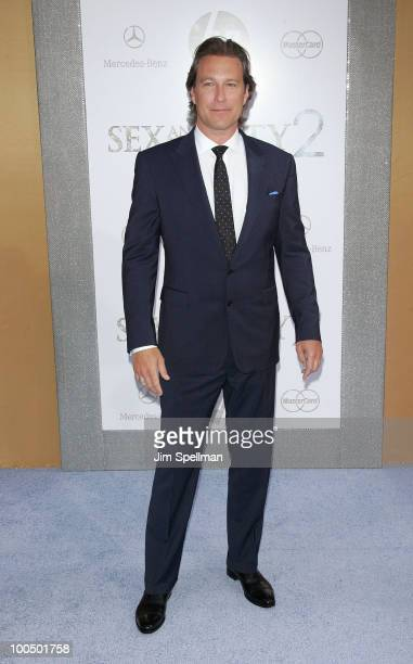 Actor John Corbett attends the premiere of Sex and the City 2 at Radio City Music Hall on May 24 2010 in New York City