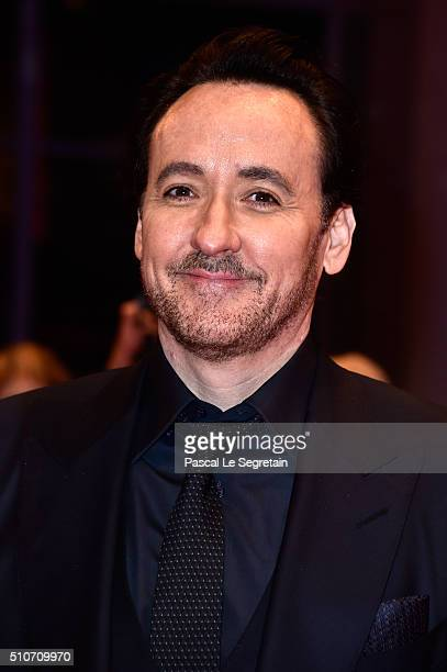 Actor John Cusack attends the 'ChiRaq' premiere during the 66th Berlinale International Film Festival Berlin at Berlinale Palace on February 16 2016...