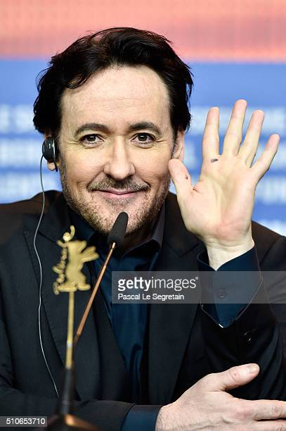 Actor John Cusack attends the 'ChiRaq' press conference during the 66th Berlinale International Film Festival Berlin at Grand Hyatt Hotel on February...