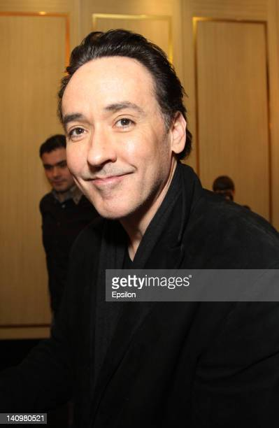 Actor John Cusack attends the 'The Raven' premieree on March 5 2012 in Moscow Russia