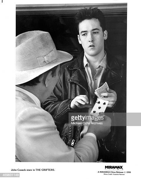 Actor John Cusack on set of the movie 'The Grifters ' circa 1990