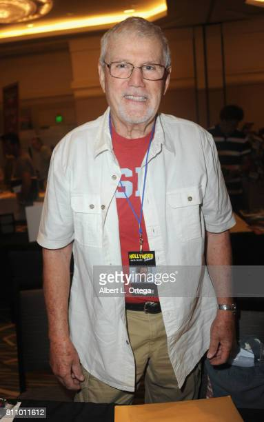 Actor John Davey signs autographs at The Hollywood Show held at Westin LAX Hotel on July 8 2017 in Los Angeles California