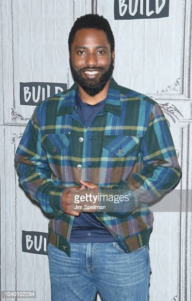 Actor John David Washington attends the Build Series to discuss Monsters and Men at Build Studio on September 25 2018 in New York City