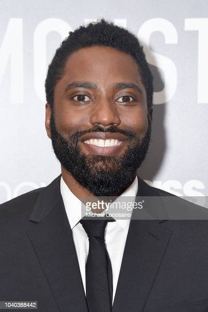 Actor John David Washington attends the New York premiere of Monsters And Men at the BAM Harvey Theater on September 25 2018 in the Brooklyn borough...