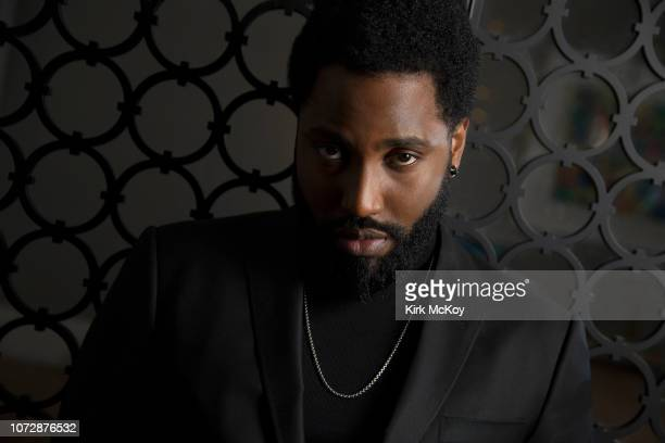 Actor John David Washington is photographed for Los Angeles Times on November 28 2018 in Hollywood California PUBLISHED IMAGE CREDIT MUST READ Kirk...