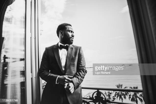 Actor John David Washington poses for a portrait on May 2018 in Cannes France