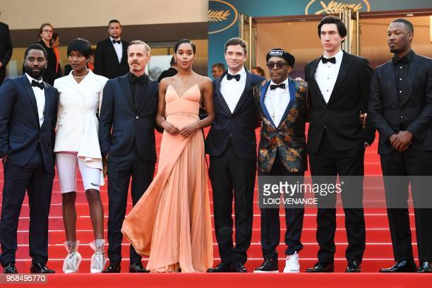 US actor John David Washington US actress Damaris Lewis Finnish actor Jasper Paakkonen US actress Laura Harrier US actor Topher Grace US director...