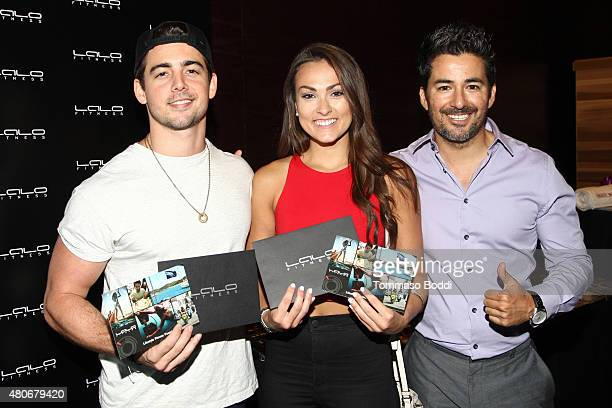 Actor John DeLuca and Personal Trainer Lalo Fuentes attend the GBK Pre-ESPY lounge held at the Andaz Hotel on July 13, 2015 in Los Angeles,...