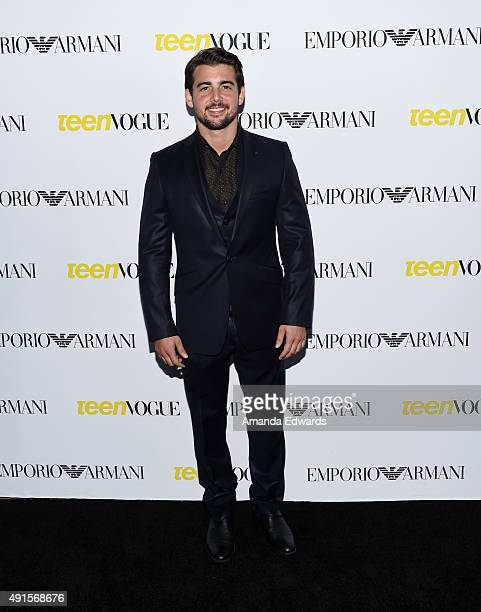 Actor John DeLuca arrives at Teen Vogue's 13th Annual Young Hollywood Issue Launch Party on October 2, 2015 in Los Angeles, California.